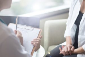 Medical Assistant Takes Patient's Medical History
