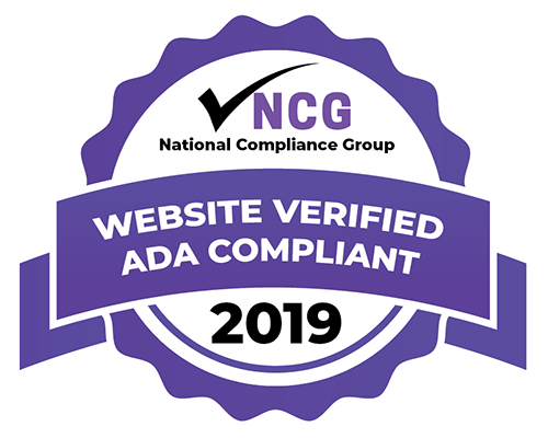 Website Verified ADA Compliant