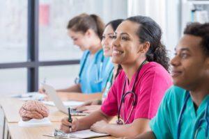 Smiling Nursing Students